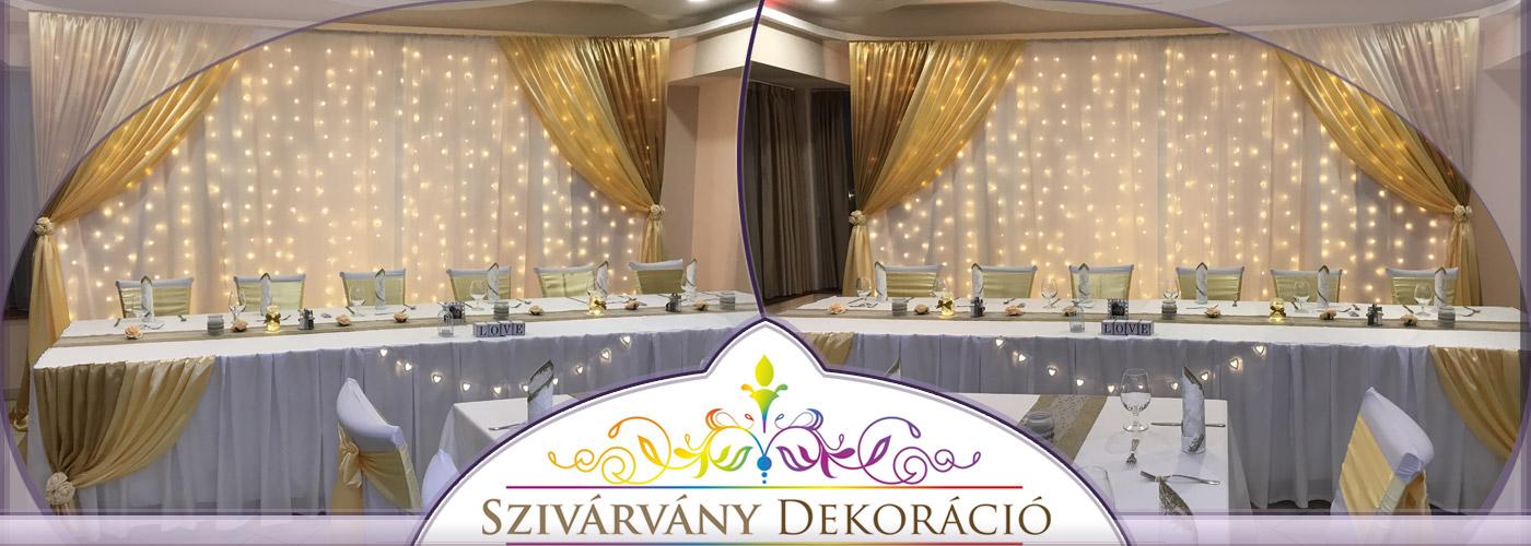 Szivárvány Dekor | Esküvői dekoráció Debrecenben | Esküvő